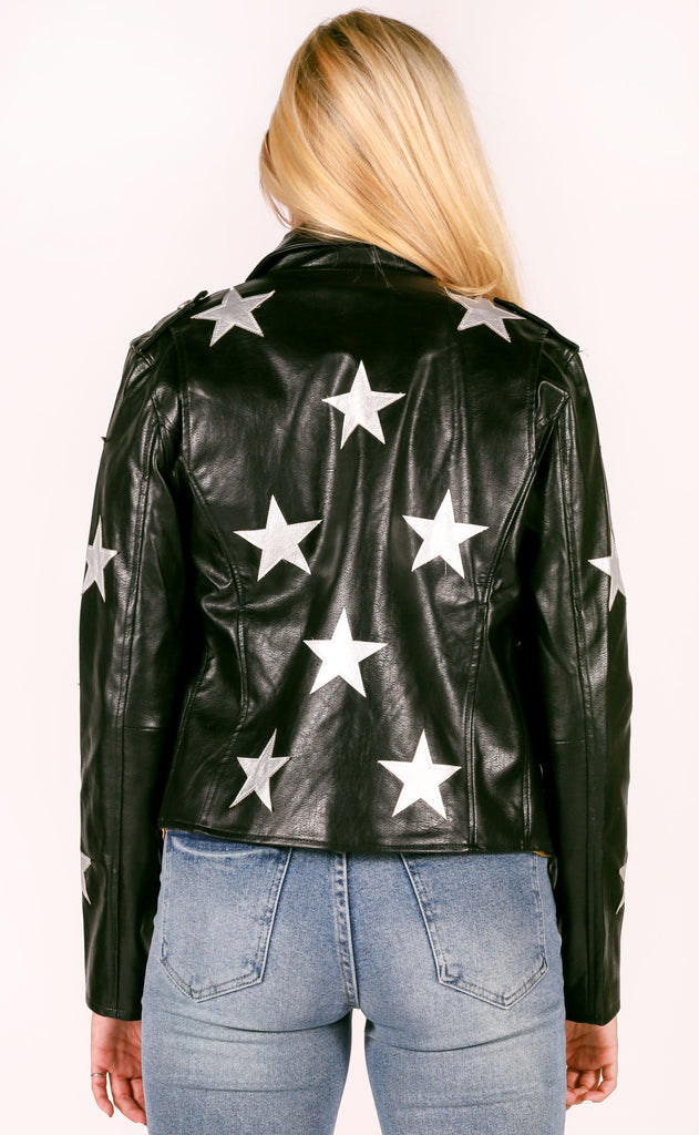 buddy love: joplin jacket - black