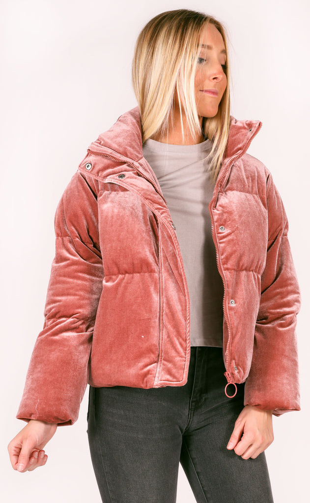 buddy love: nicks coat - rose