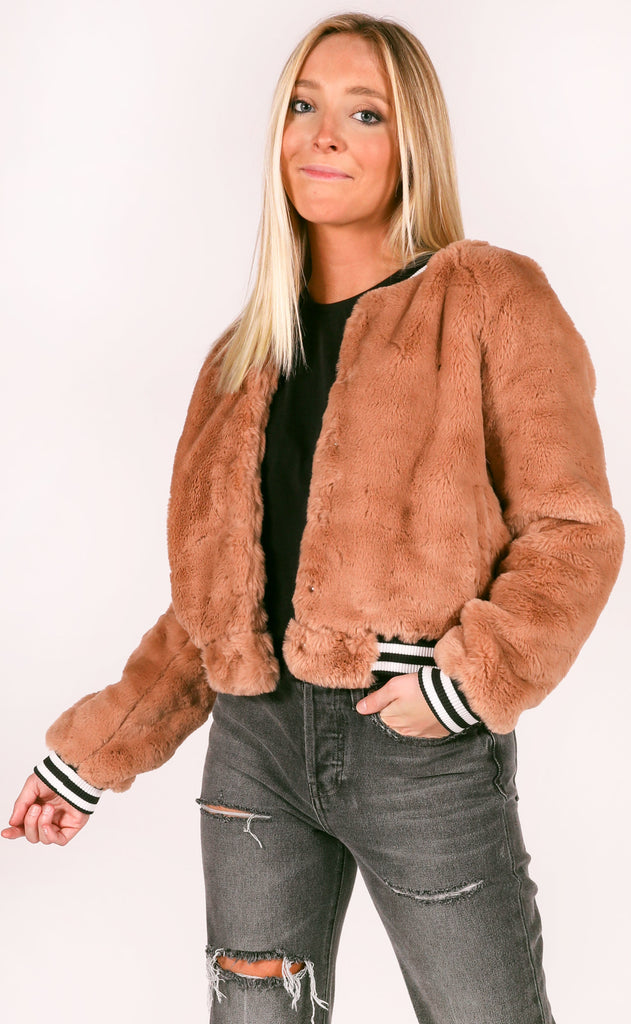 buddy love: lena bomber jacket