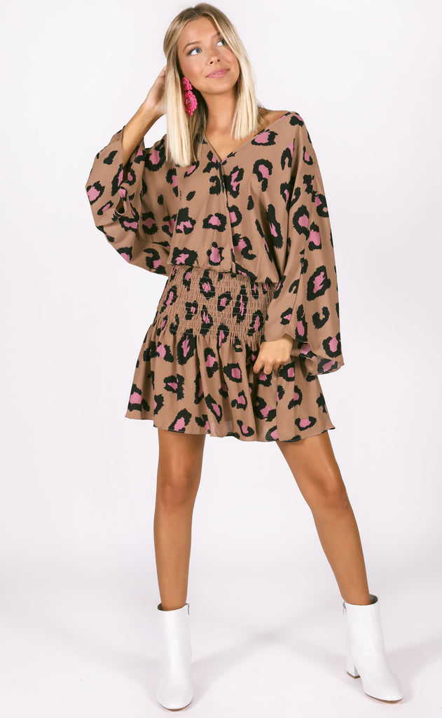 buddy love: lennox tunic - pink panther