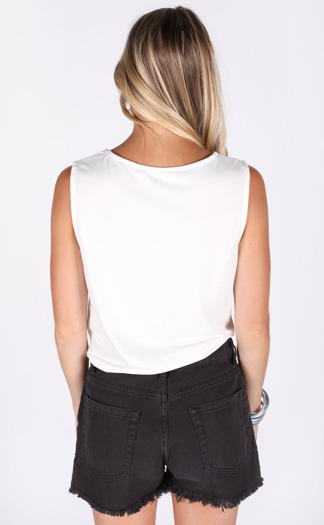 but better tie top - ivory