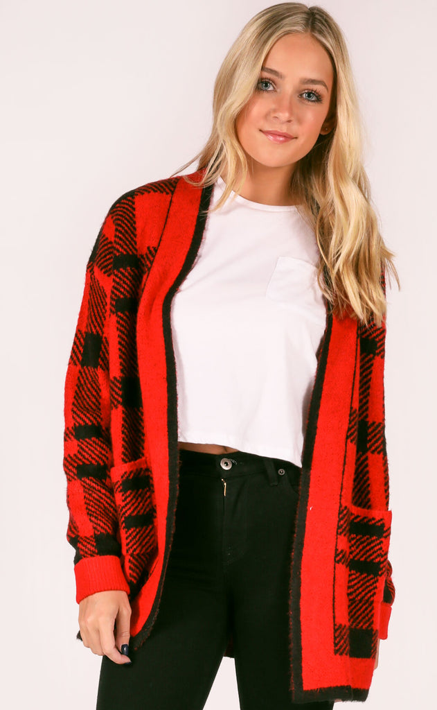 cabin fever knit cardigan