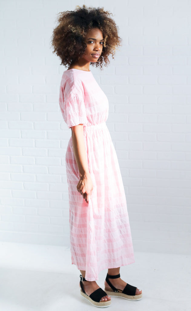 candy shop midi dress