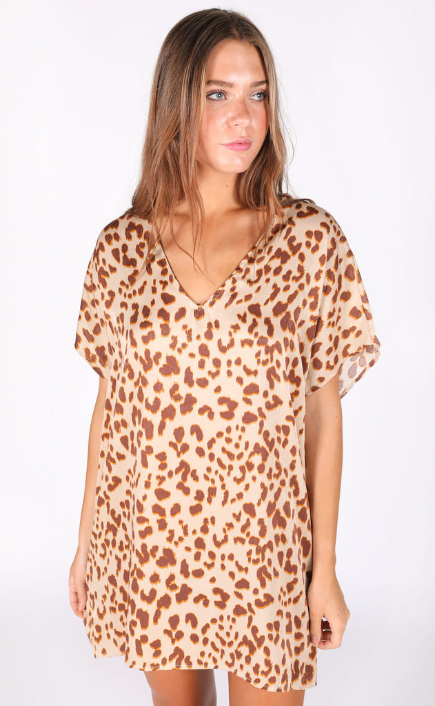 catch my eye leopard tunic