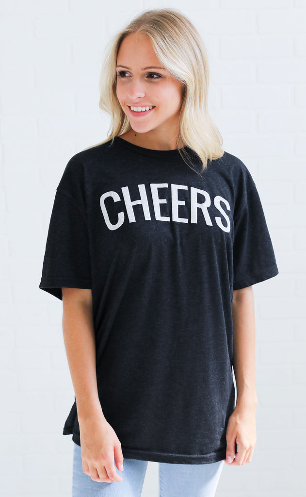 friday + saturday: cheers t shirt