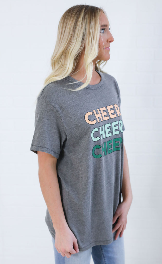 friday + saturday: cheers cheers cheers t shirt