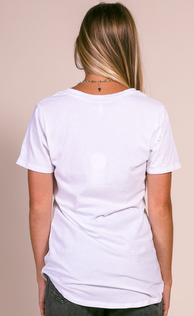 z supply: choose happy v-neck tee