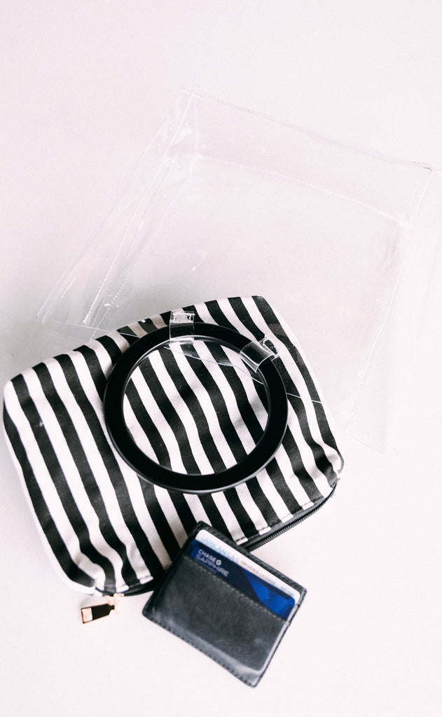 circle up gameday bag - black stripe