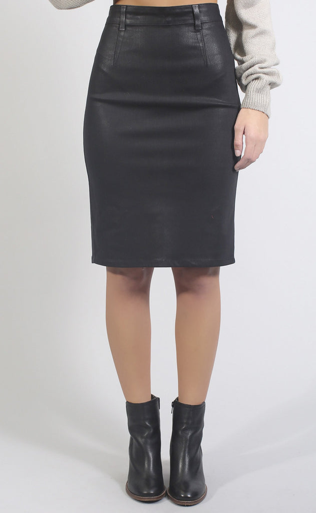 city blackout midi skirt