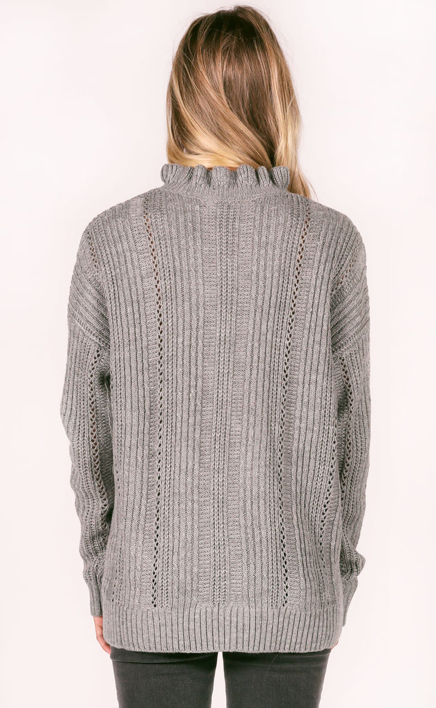 city vibes knit sweater