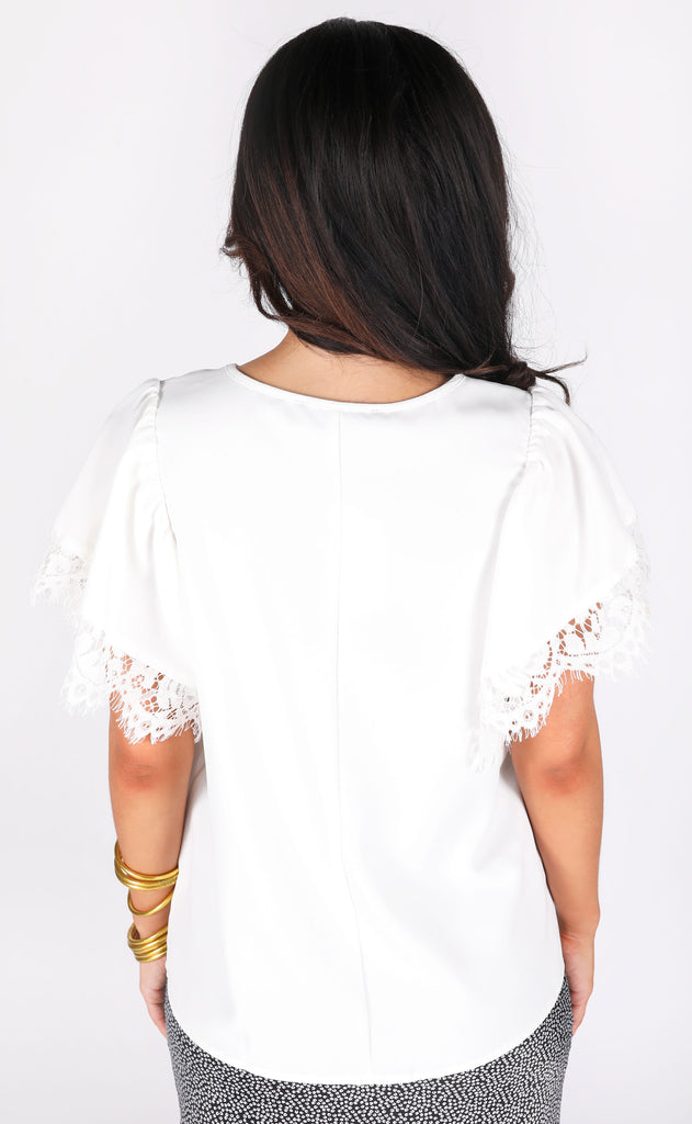 clean slate lace top
