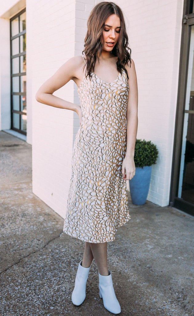 clean slate slip dress