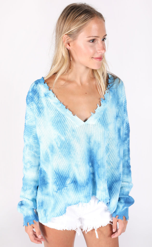 clear skies knit sweater