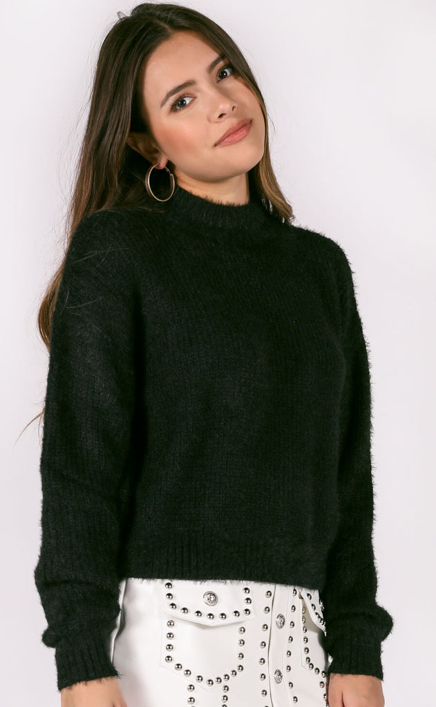 cold snap knit sweater