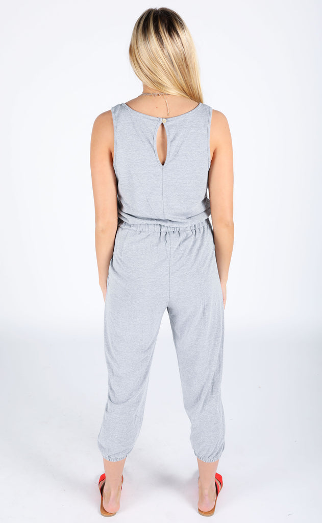 comfy cool knit jumpsuit