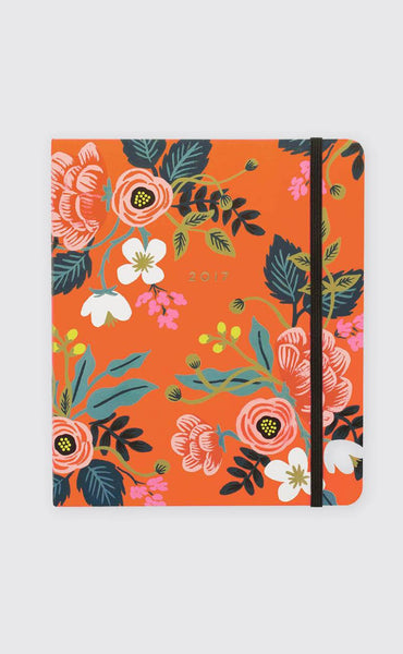 rifle paper co: 17 month planner - scarlett birch