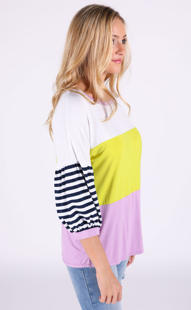 cool for the summer striped top