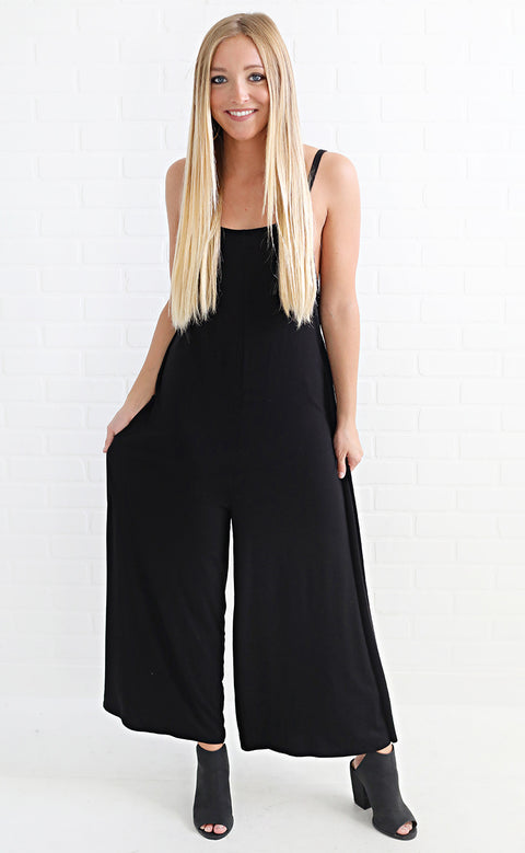 cool and collected flowy jumpsuit