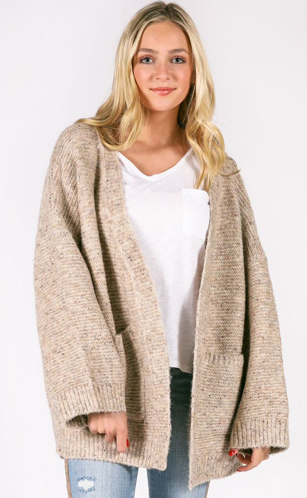 country cabin oversized sweater