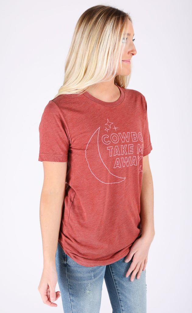 charlie southern: cowboy take me away star t shirt