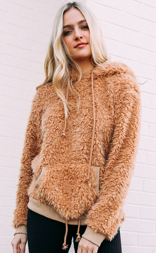 cozy days oversized pullover