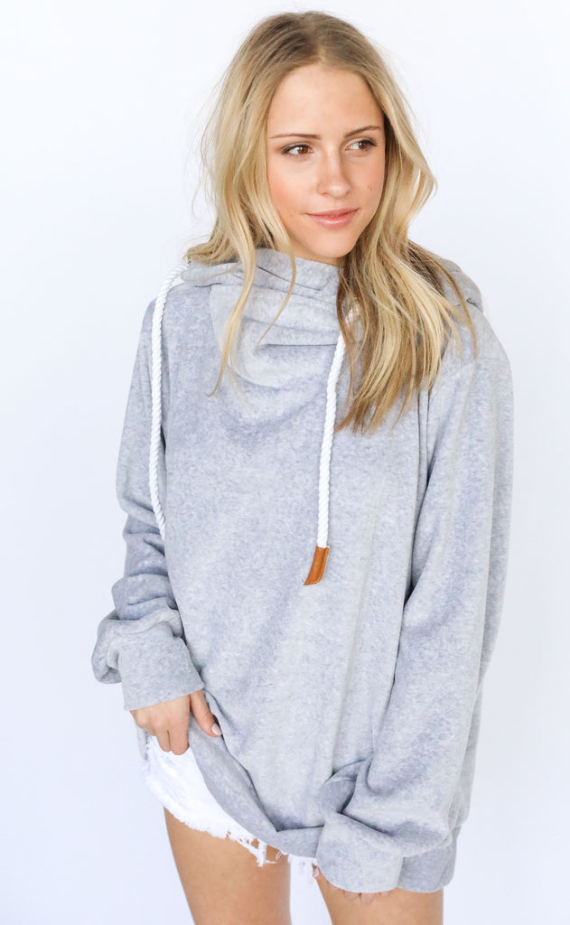 cozy forever hooded sweatshirt