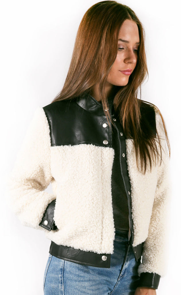 cuddle up bomber jacket