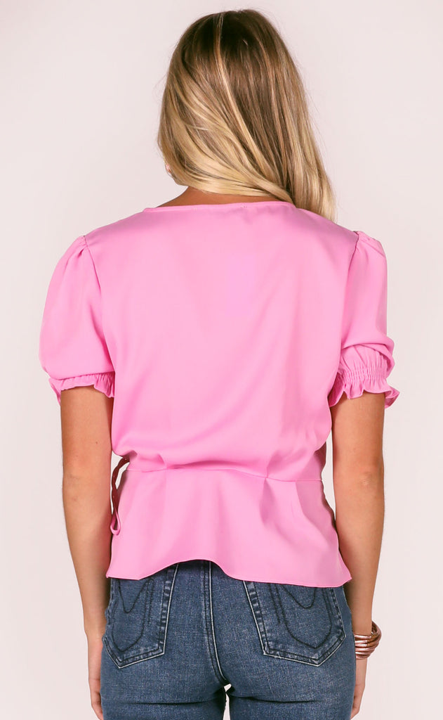 dainty darling scalloped top