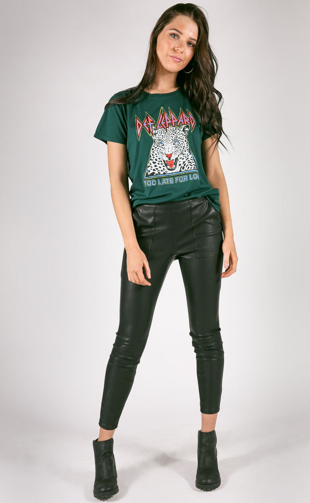daydreamer: def leppard too late for love tee