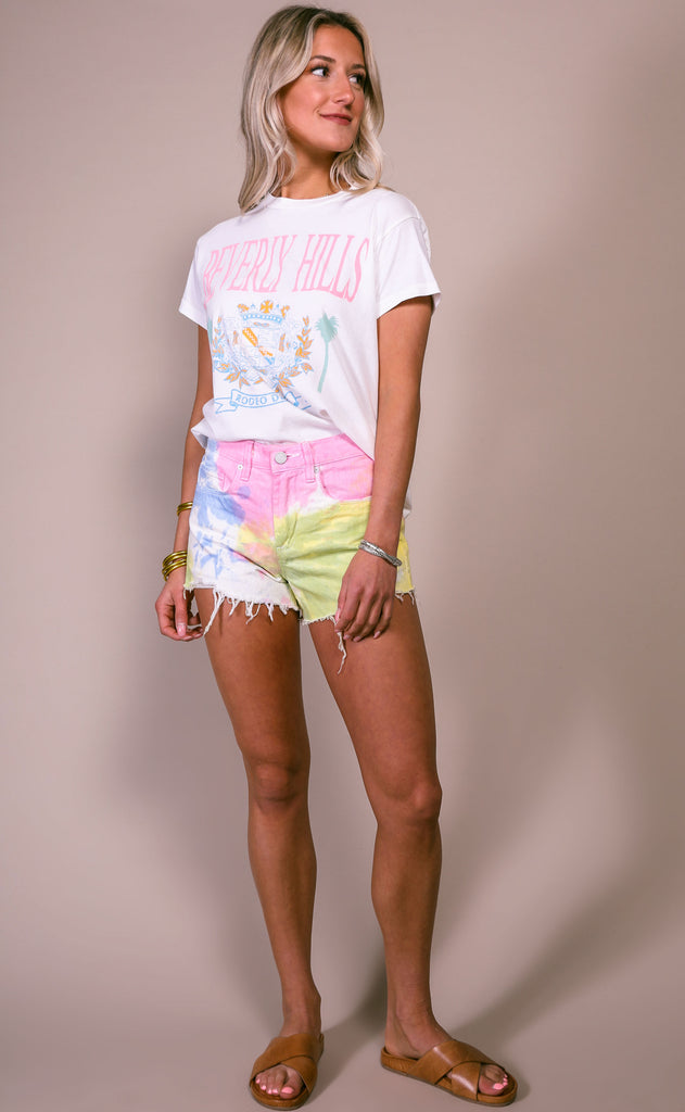 daydreamer: girlfriend tee - beverly hills