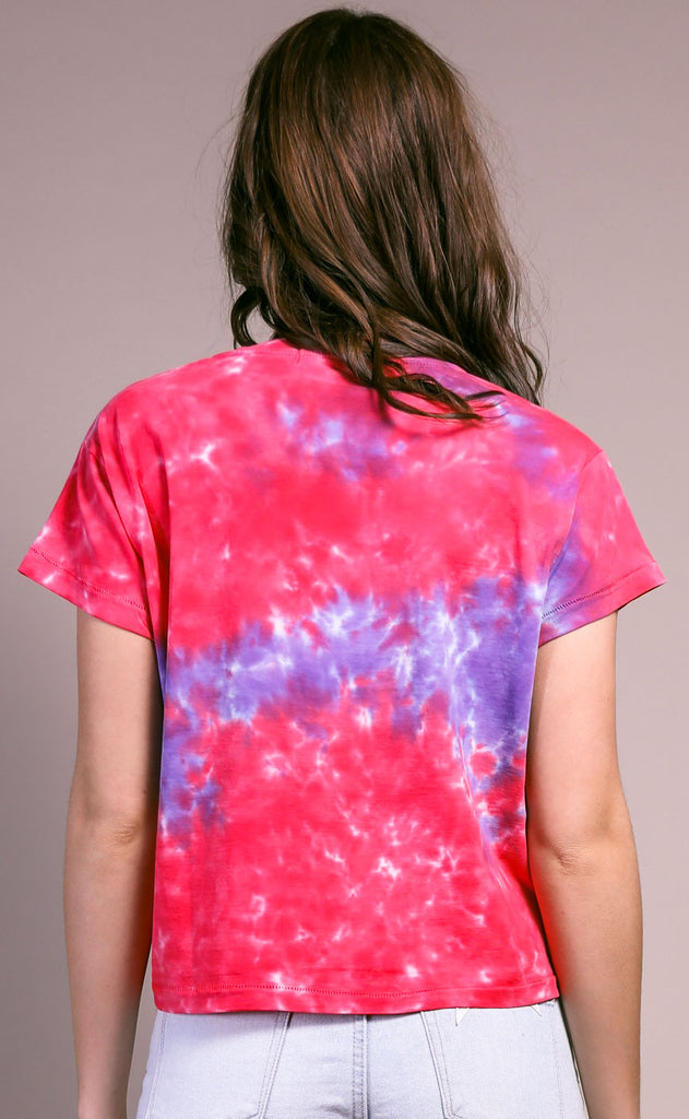 daydreamer: girlfriend tee - violet flash