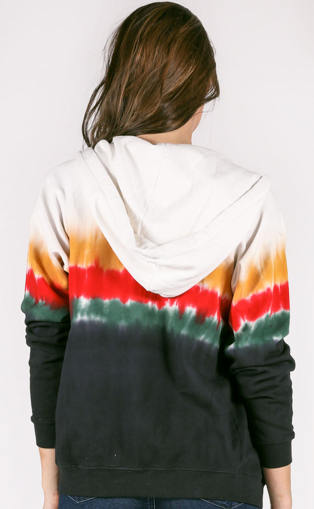 daydreamer: zip up hoodie - burning ember