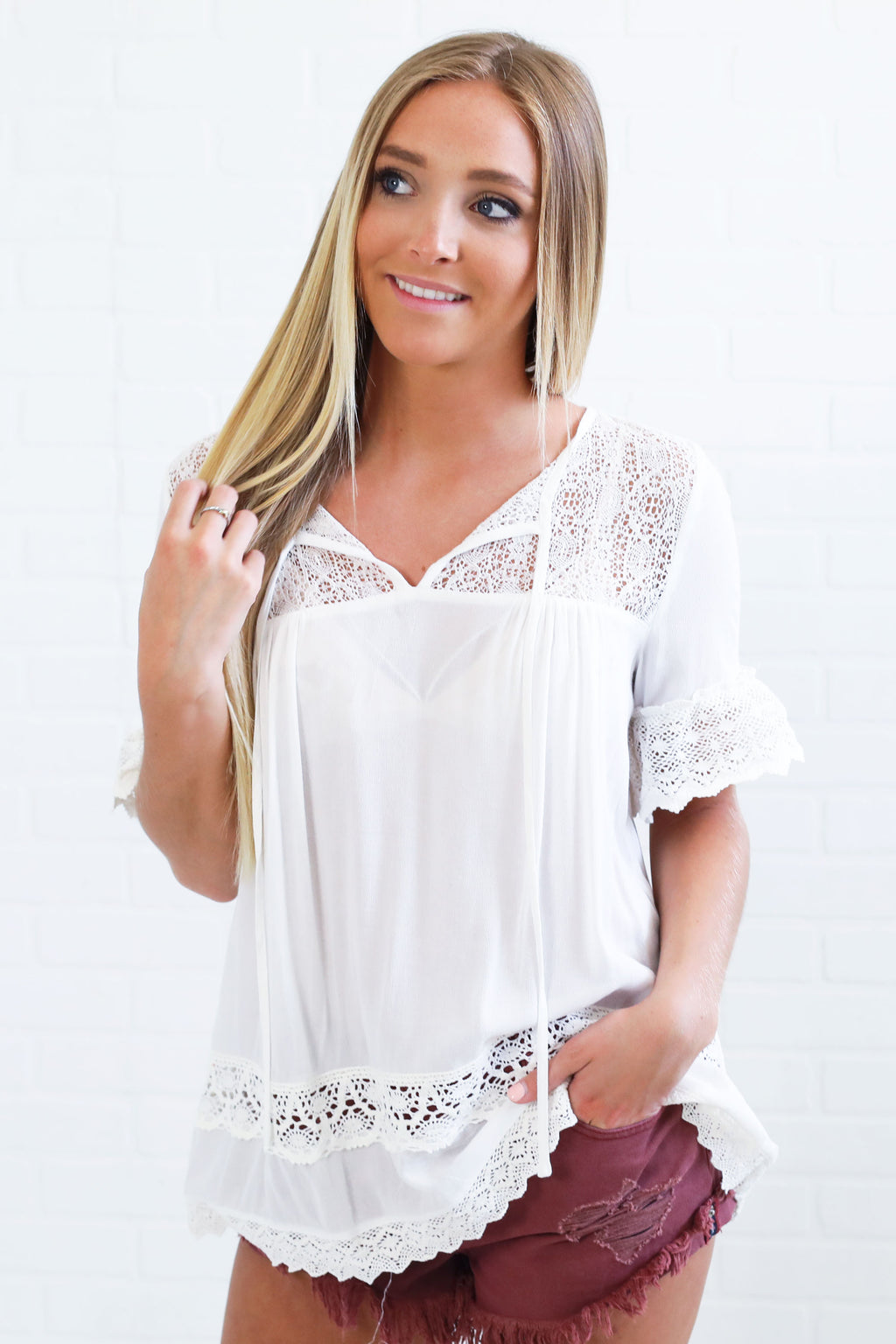daydreaming crochet top
