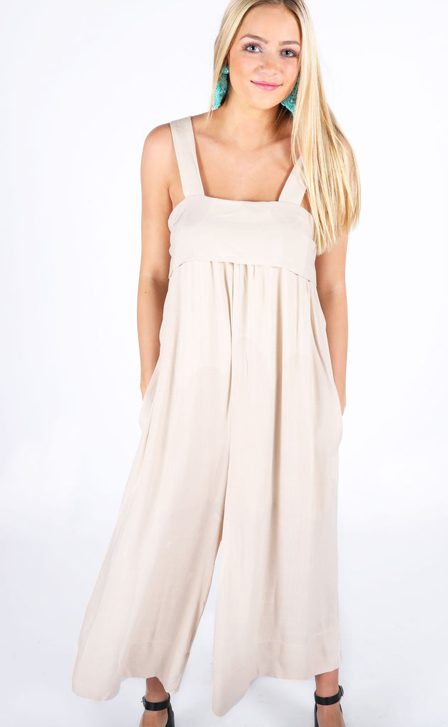 desert dancer tie back jumpsuit