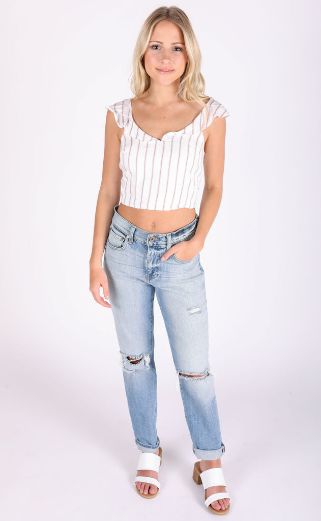 diana tie back top