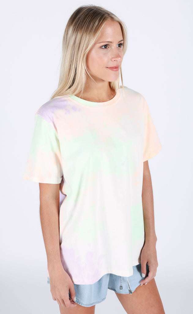 do or tie dye relaxed tee