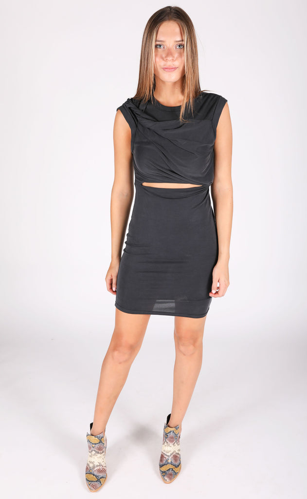 don't get it twisted cutout dress
