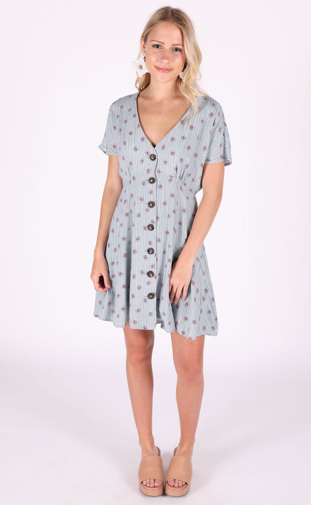down south printed dress