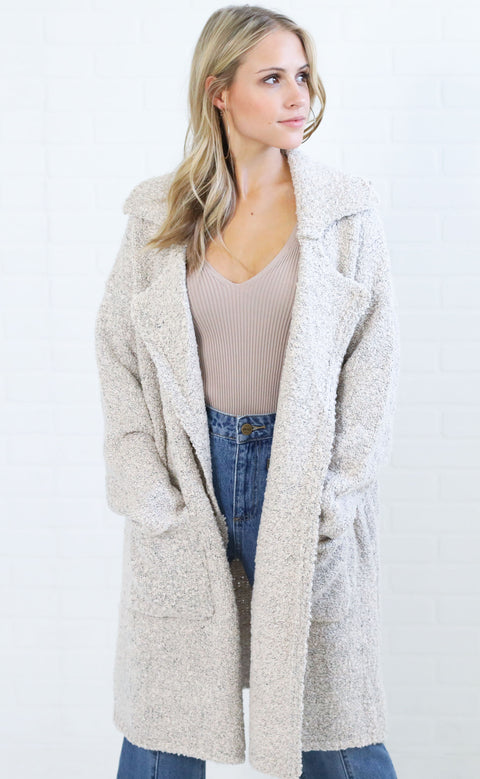 down to business knit cardigan