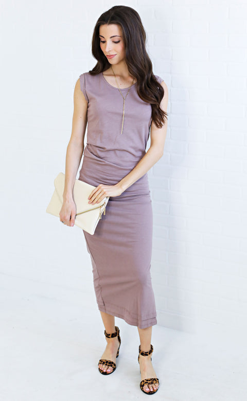 dream come true maxi dress - lilac
