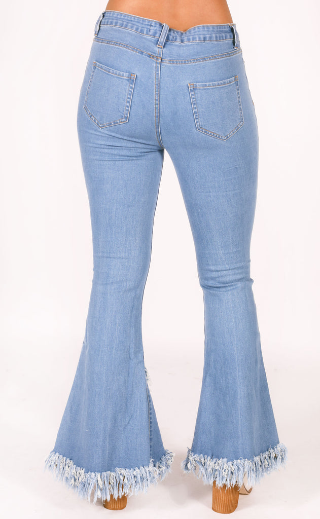 dream weaver frayed jeans