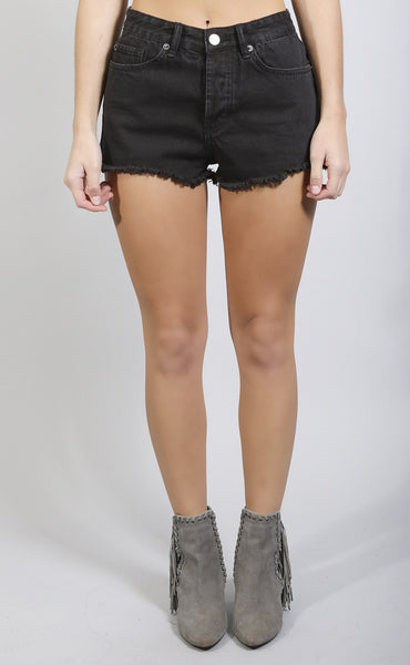 amuse society: easton short - black