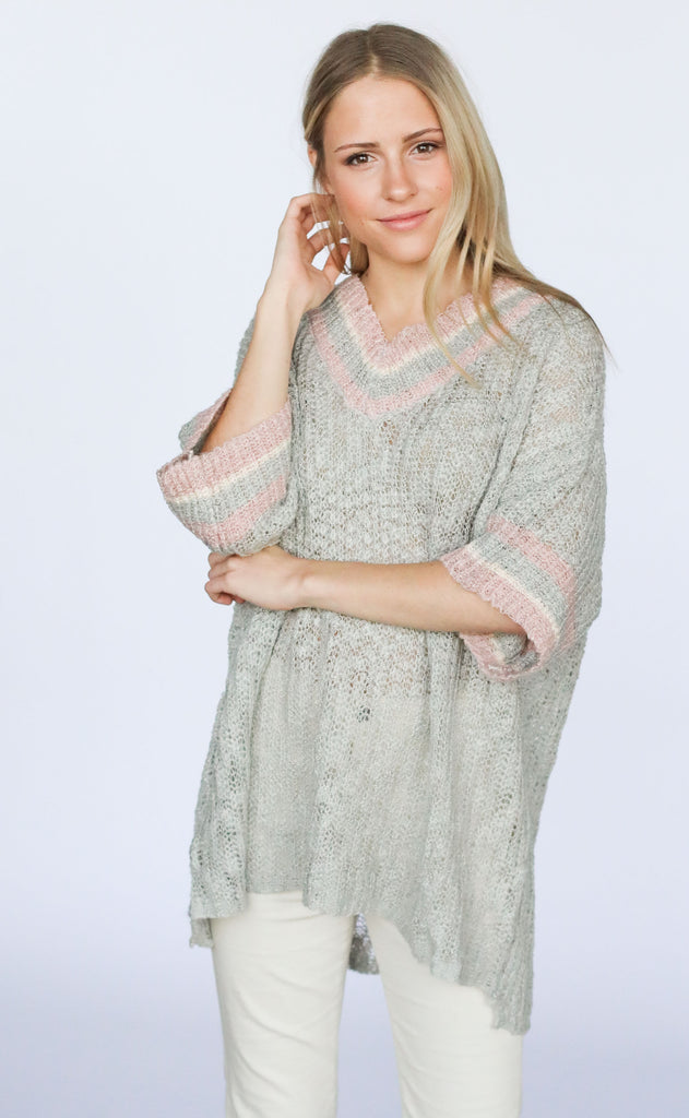 easy living knit sweater