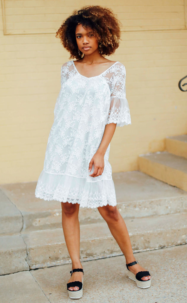 get growing embroidered dress