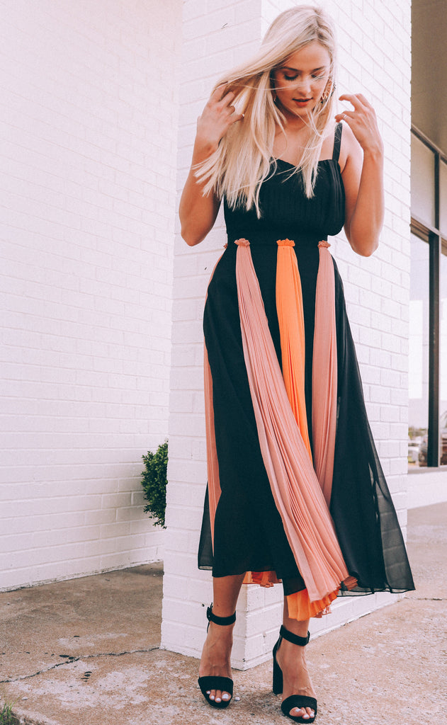 effortlessly cool midi dress