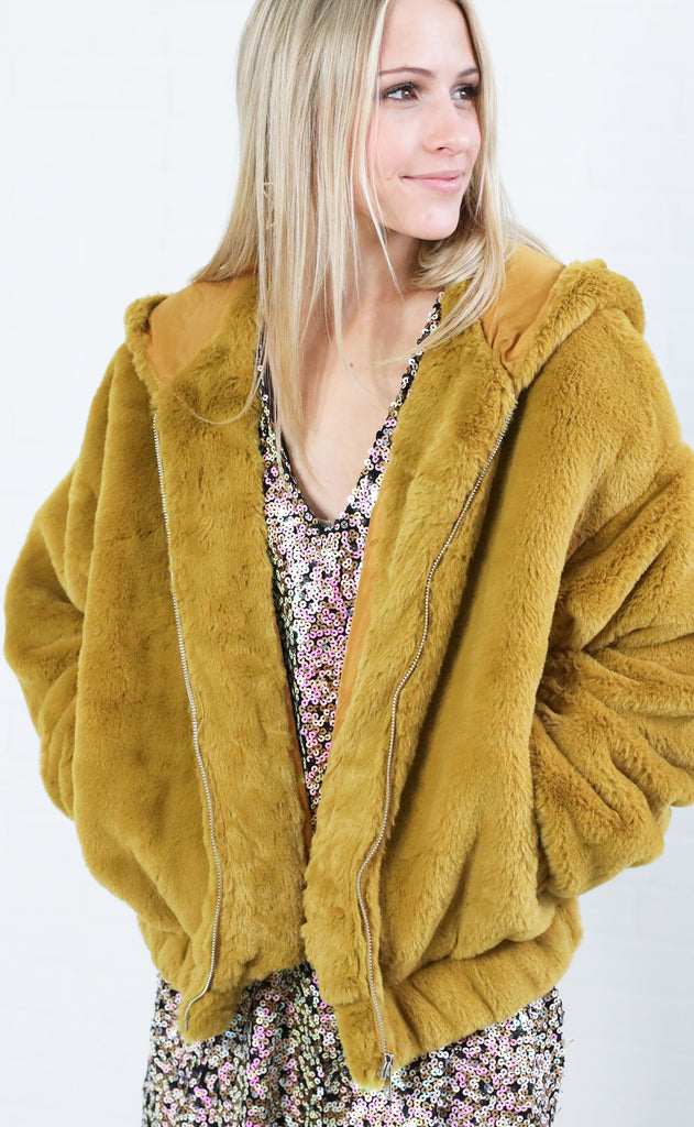 electric feel fuzzy jacket