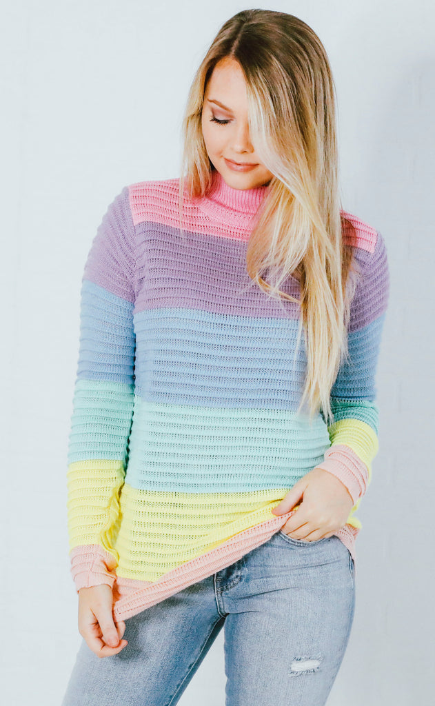everyday love knit sweater