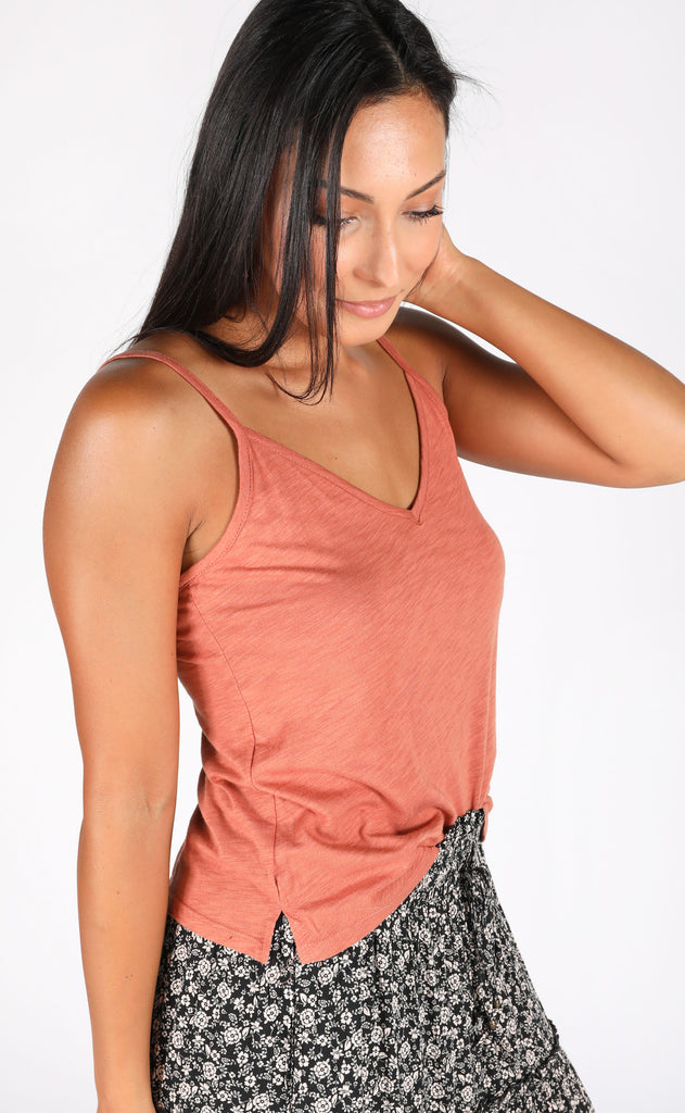 everyday adventures basic cami - camel