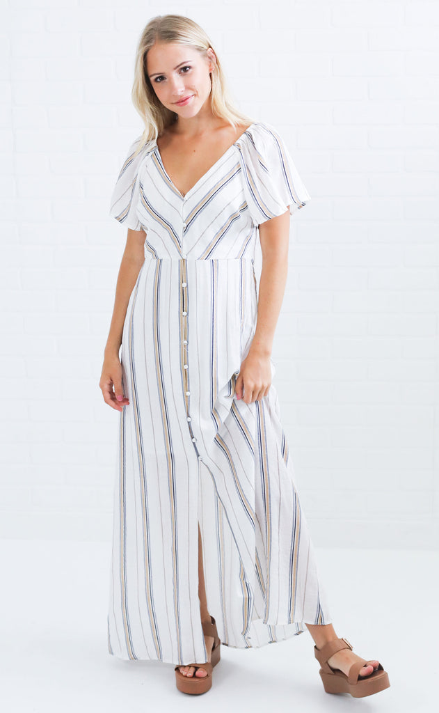 expand your horizons maxi dress