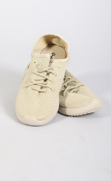 famous sneaker - taupe